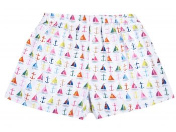 Boat and Anchor Boxer Shorts