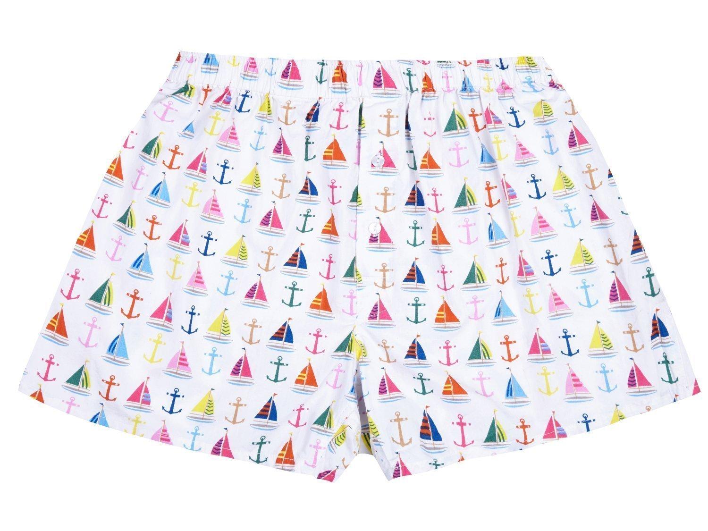 Boat and Anchor Boxer Shorts