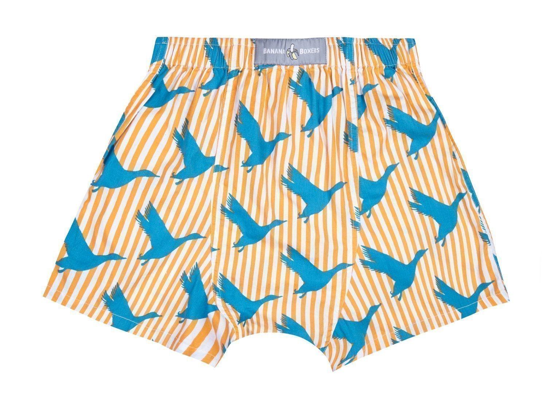 Flying Duck Boxer Shorts back