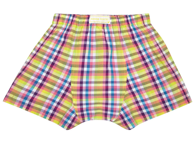 Check Mate Boxer Shorts back