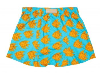 Flying Fish Boxer Shorts back