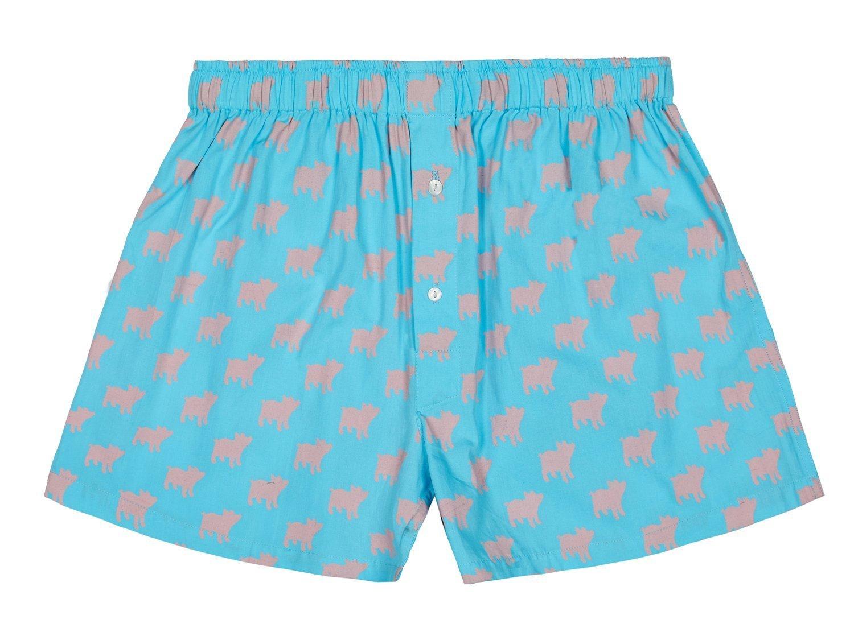 Pink Piggies Boxer Shorts